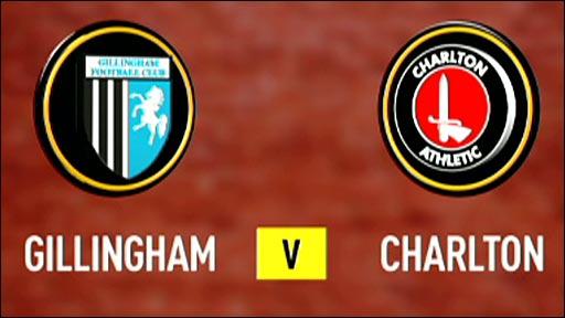 Gillingham v Charlton
