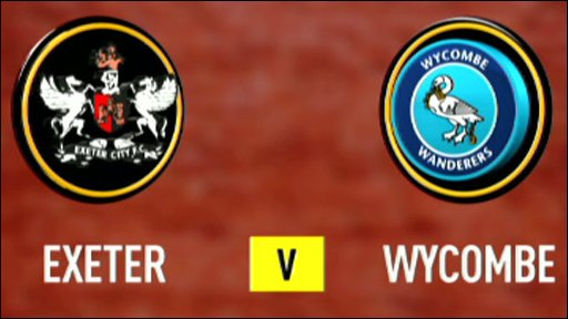 Exeter v Wycombe