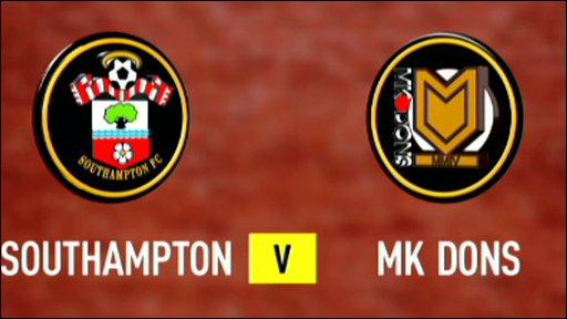 Southampton v MK Dons