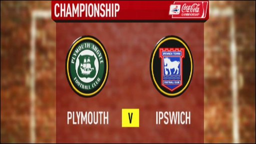Plymouth v Ipswich
