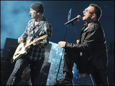 U2 at the Pasadena Rose Bowl