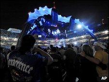 U2's stage