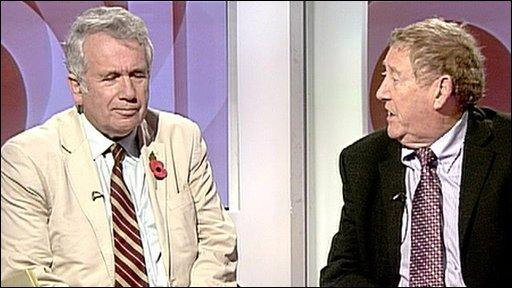 Martin Bell and Austin Mitchell