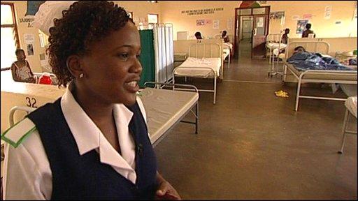 Midwife Barbara Mlewah