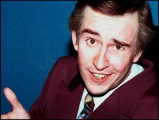 Comedian Steve Coogan in his role as Alan Partridge
