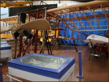 A replica of a 1911 monoplane