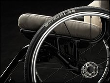 A nomad wheelchair
