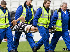 Tom Brighton has badly damaged his knee