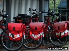 Royal Mail bicycles