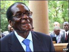 Robert Mugabe, file image