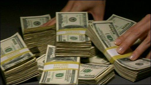 Lots of dollars