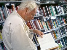 Inside one of Suffolk's mobile libraries