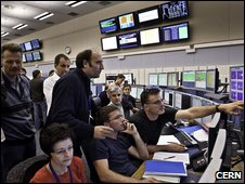 LHC control room
