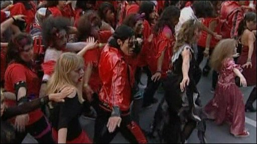 Thriller world record attempt