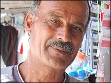 Khader Makdad, Shati camp stallholder