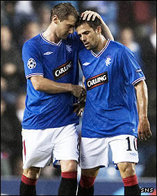 Kevin Thomson and Nacho Novo