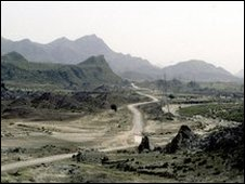 A scene depicting the border between Afghanistan and Pakistan in the Baluchistan area of Pakistan/Afghanistan (Archive)