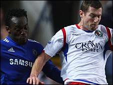 Michael Essien and Brett Emerton