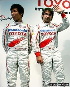 Kamui Kobayashi and Timo Glock