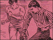 Fosse programme 1900 - Copyright John Hutchinson, LCFC Digital Archive
