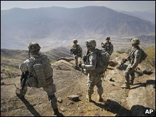 US soldiers in Afghanistan (file)