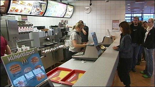 McDonalds in Iceland