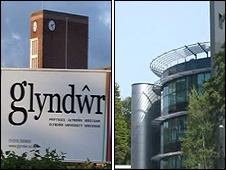 Glyndwr University and Swansea University