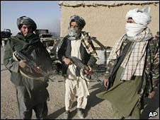 Taliban fighters in Afghanistan. Photo: October 2009