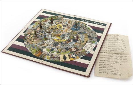 Suffragette board game