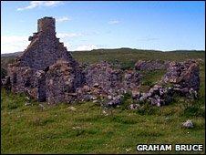 Ruins of Durness Parish School