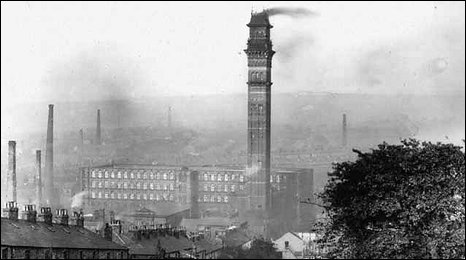 India Mill's chimney is built on the style of an Italian bell-tower or campanile