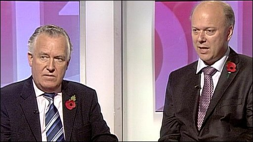 Peter Hain and Chris Grayling