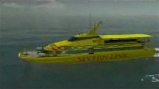 Graphic: Severn Link ferry