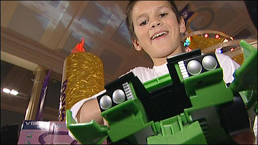Joe with the Ben 10 Alien Force Kevins DX Action Cruiser