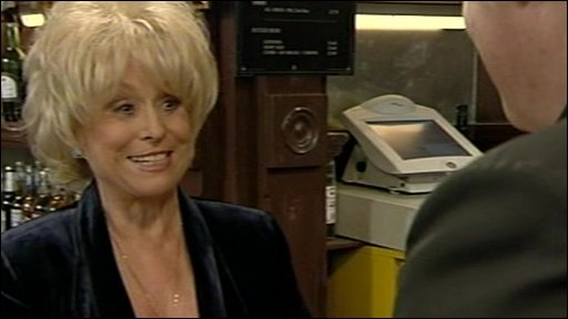 Actress Barbara Windsor,