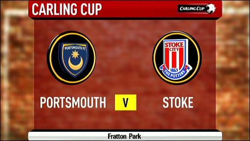 Portsmouth v Stoke