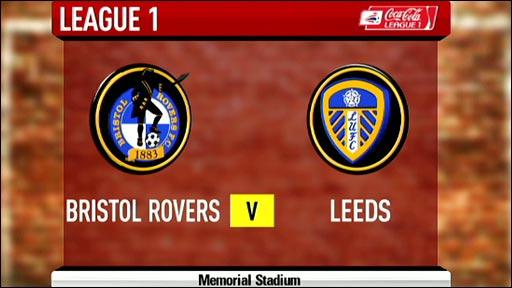 Bristol Rovers v Leeds Utd