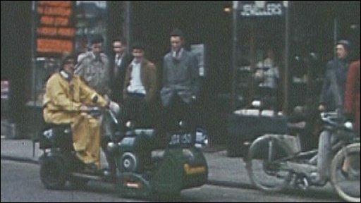 Ransomes 1959 lawnmower challenge