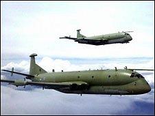 RAF Nimrod (Copyright: MoD)
