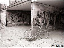 Kelso's escape bike, July 1996