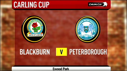 Blackburn v Peterborough
