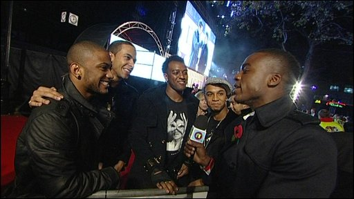 JLS talks to Newsround