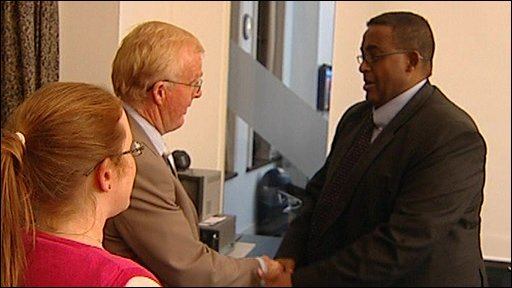 Somali Prime Minister meets Chandler relatives