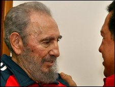 Fidel Castro pictured in 2007