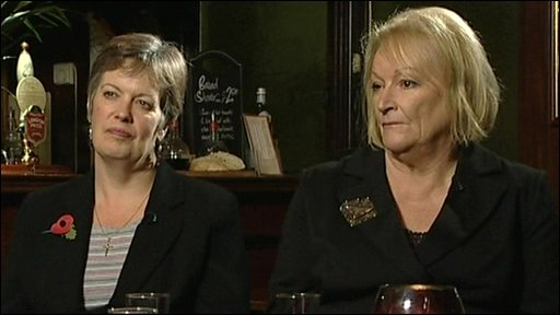Eve Burt and Linda McDougall