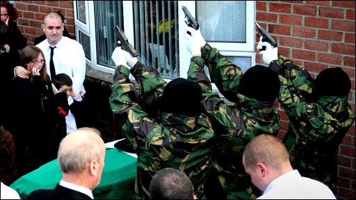Gunmen fire at funeral of republican John Brady