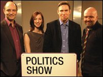 Politics Show team for the North East and Cumbria