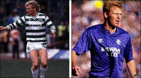Mo Johnston played for both Old Firm clubs