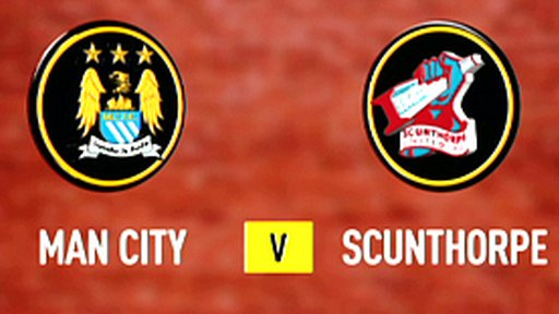 Man City 5-1 Scunthorpe