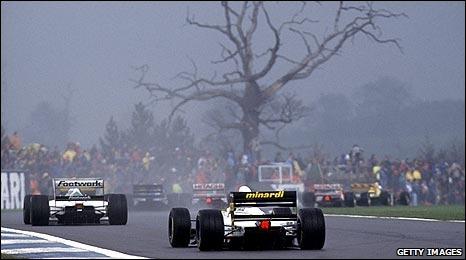 Donington Park in 1993